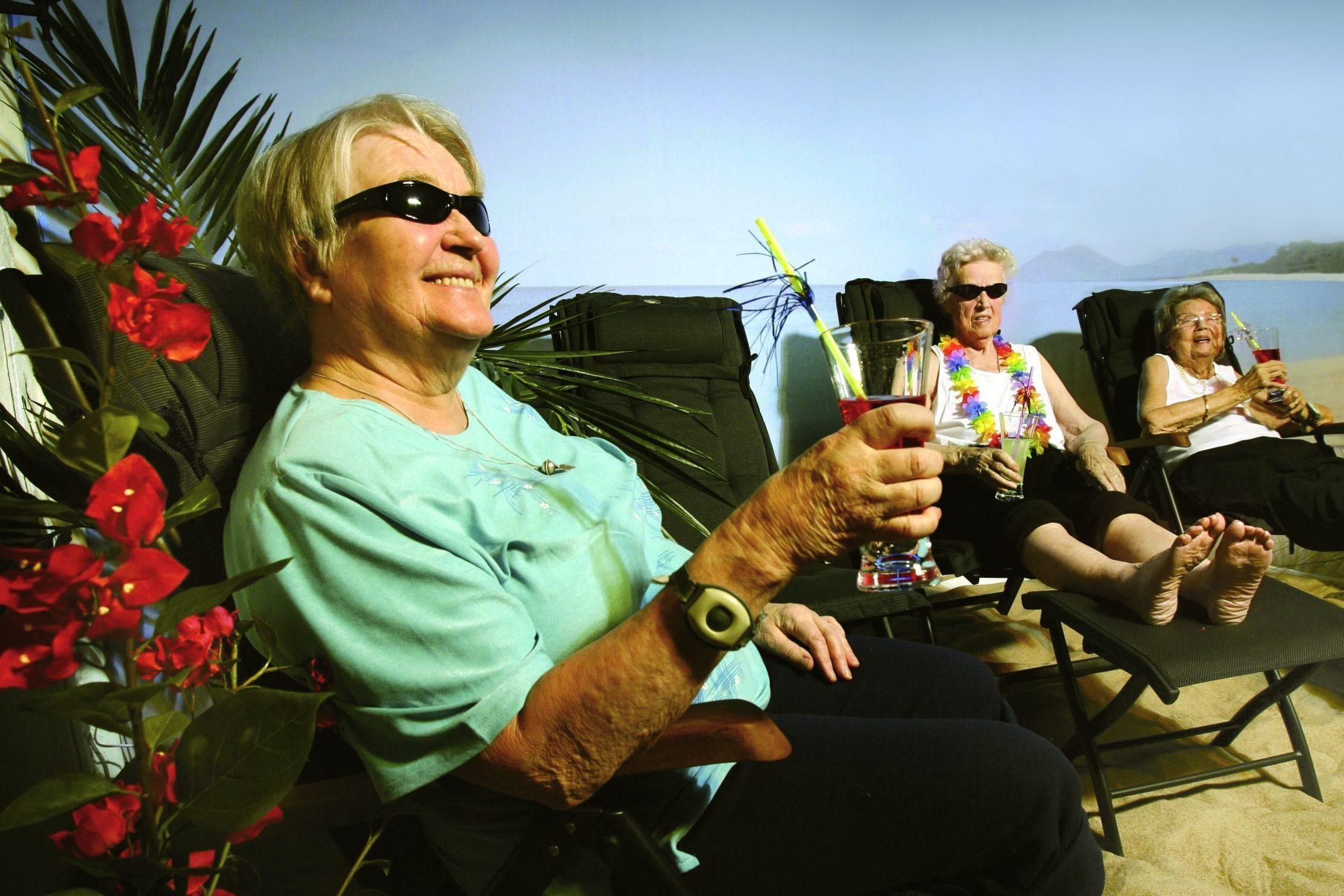 Statsbidraget till solterapi för bättre demens- och äldrevård