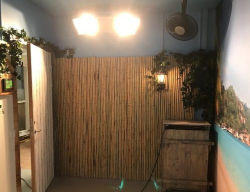 Norrbottens modernaste äldreboende får ett solrum