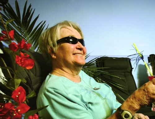 Better health for the elderly after a stay in the sun at a nursing home