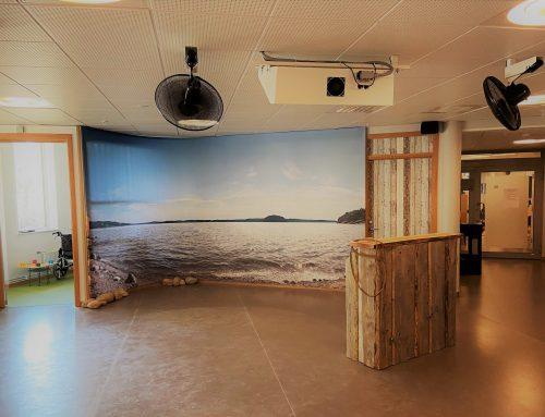 Ny solhörna på Kaggeleds äldreboende i Göteborg